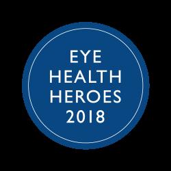 Eye Health Hero with Operation Eyesight-trained community health workers