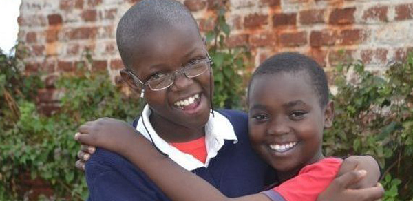 teenager from Kenya received new, prescription eyeglasses thanks to Operation Eyesight's donors!