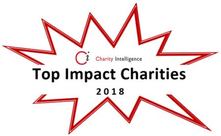 Top Impact Charities 2018