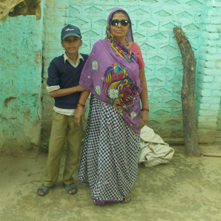Indian grandmother's blindness affects her whole family
