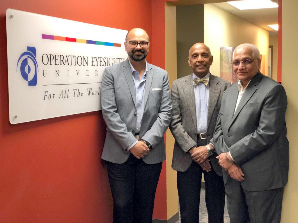 Aly Bandali, Dr. rao, Dr. Das