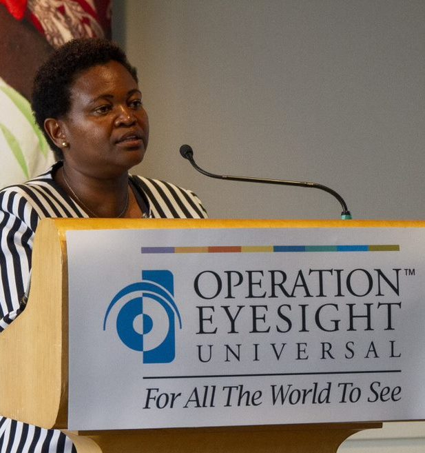 Alice Mwangi, Country Manager in Kenya for Operation Eyesight