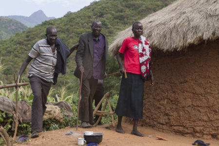 Kenya, West Pokot man receives sight-restoring cataract surgery