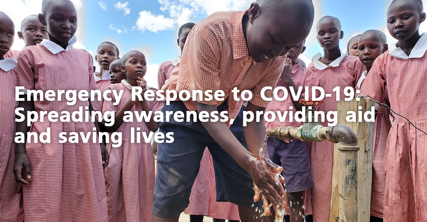 Emergency Response to COVID-19: Spreading awareness, providing aid and saving lives