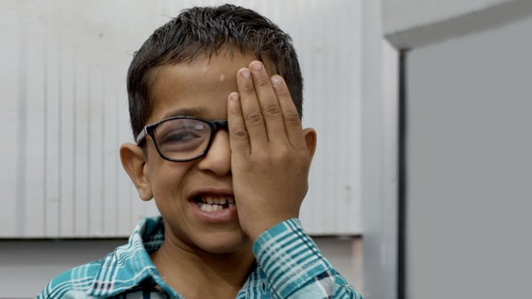 A simple pair of eyeglasses transforms a young boy's future